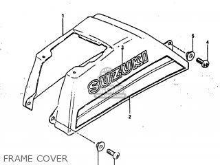 Suzuki Alt185 1985 f Usa e03 Frame Cover
