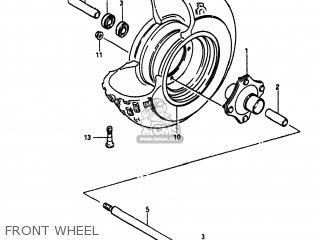Suzuki Alt185 1985 f Usa e03 Front Wheel