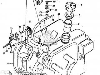 Suzuki Alt185 1985 f Usa e03 Fuel Tank