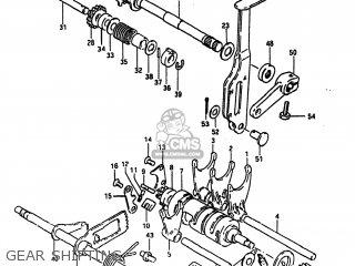 Suzuki Alt185 1985 f Usa e03 Gear Shifting