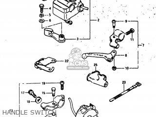 Suzuki Alt185 1985 f Usa e03 Handle Switch