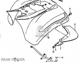 Suzuki Alt185 1985 f Usa e03 Rear Fender