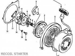Suzuki Alt185 1985 f Usa e03 Recoil Starter