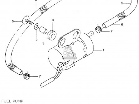 Suzuki An250 1999 x Fuel Pump