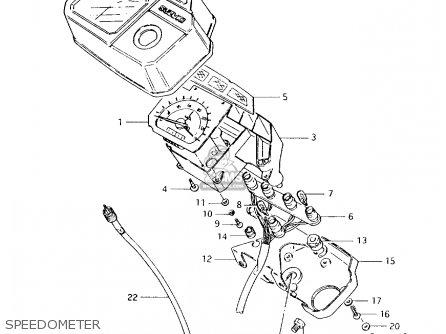 Suzuki Ax100 1994 r Speedometer