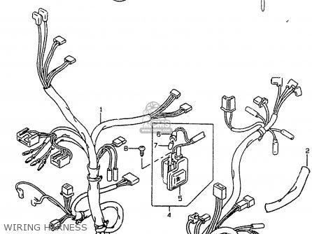 suzuki ay50 1998  w  parts lists and schematicsharley davidson handlebar wiring diagram