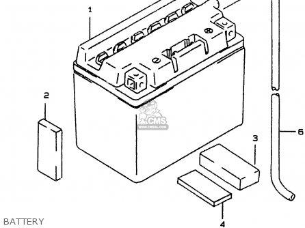 Suzuki Ay50 1999 wx Battery