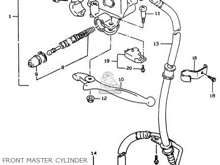 Suzuki Ay50w 1999 x Front Master Cylinder