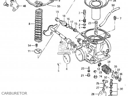 Suzuki Cs125 1983 d Carburetor