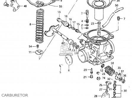 Suzuki Cs125 1983 d e1 E2 E4 E6 E15 E17 E18 E21 E22 E24 E25 E26 E39 Carburetor