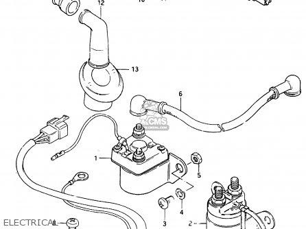 Suzuki Cs125 1983 d e1 E2 E4 E6 E15 E17 E18 E21 E22 E24 E25 E26 E39 Electrical