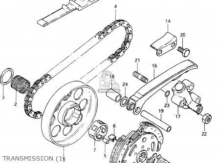 Suzuki Cs125 1983 d e1 E2 E4 E6 E15 E17 E18 E21 E22 E24 E25 E26 E39 Transmission 1