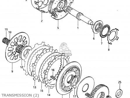 Suzuki Cs125 1983 d e1 E2 E4 E6 E15 E17 E18 E21 E22 E24 E25 E26 E39 Transmission 2