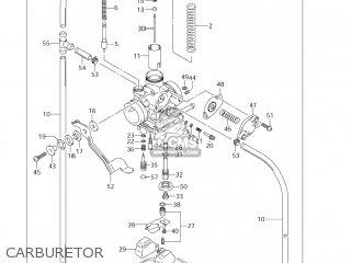 Suzuki Dr-z125 2003 k3 Usa e03 Drz125 Dr Z125 Carburetor