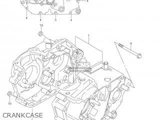 Suzuki Dr-z125 2003 k3 Usa e03 Drz125 Dr Z125 Crankcase