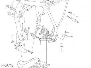 Suzuki Dr-z125 2003 k3 Usa e03 Drz125 Dr Z125 Frame