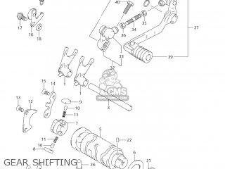 Suzuki Dr-z125 2003 k3 Usa e03 Drz125 Dr Z125 Gear Shifting