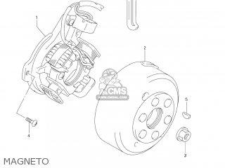Suzuki Dr-z125 2003 k3 Usa e03 Drz125 Dr Z125 Magneto