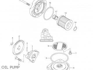 Suzuki Dr-z125 2003 k3 Usa e03 Drz125 Dr Z125 Oil Pump