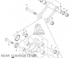 Suzuki Dr-z125 2003 k3 Usa e03 Drz125 Dr Z125 Rear Cushion Lever