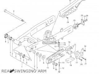 Suzuki Dr-z125 2003 k3 Usa e03 Drz125 Dr Z125 Rear Swinging Arm