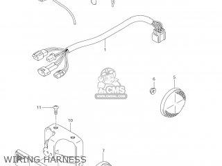 Suzuki Dr-z125 2003 k3 Usa e03 Drz125 Dr Z125 Wiring Harness