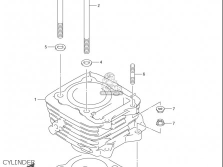 Suzuki Dr-z125  l usa Cylinder