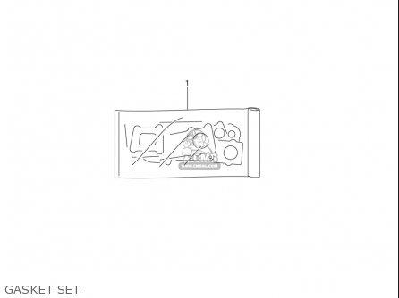 Suzuki Dr-z125  l usa Gasket Set