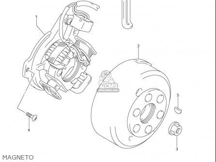 Suzuki Dr-z125  l usa Magneto