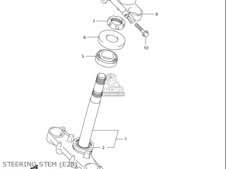 Suzuki Dr-z125  l usa Steering Stem e28