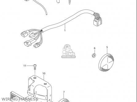 Suzuki Dr-z125  l usa Wiring Harness