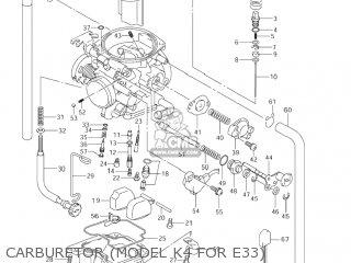 carburetor (model k4 for e33)