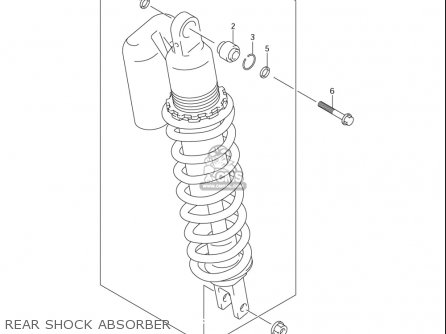 Suzuki Dr-z400 S usa Rear Shock Absorber