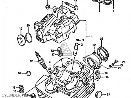 Suzuki Dr125s 1985 F E01 E02 E04 E18 E24 Parts Lists And Schematics