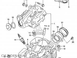 Suzuki    Dr200se    1996  t  Usa  e03  parts list partsmanual partsfiche