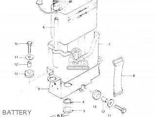 Suzuki Dr250 1982 sz Battery