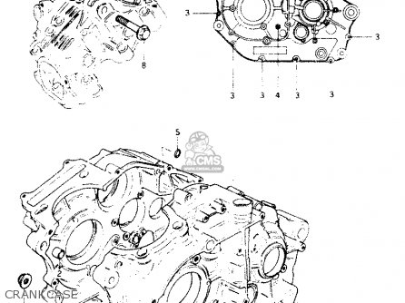 Suzuki Dr250 1982 sz Crankcase