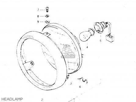 Suzuki Dr250 1982 sz Headlamp