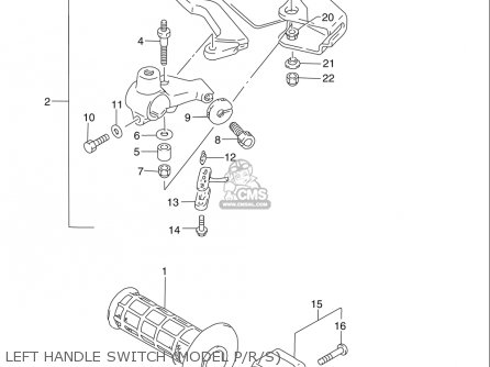 suzuki dr250 se 1990 1995 usa left handle switch model prs_mediumsuusa84043_ad4d wiring diagram for prs wiring find image about wiring diagram,Ibanez Pickup Wiring Diagram