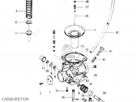 Suzuki Dr250s 1982 z Carburetor