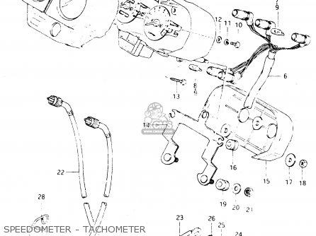 Suzuki Dr250s 1982 z Speedometer - Tachometer
