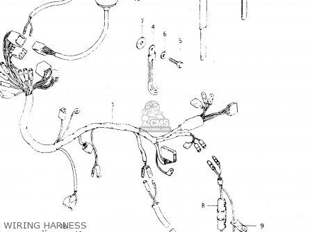 suzuki dr250s 1982 (z) parts lists and schematics 1983 suzuki dr250 dr250s wiring diagram #21