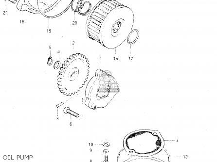 suzuki dr250s 1983  d  parts lists and schematics