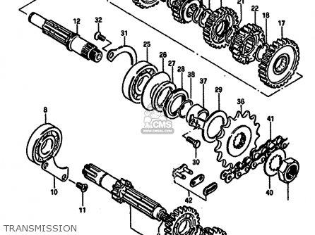 Suzuki DR250S 1984  E   E01 E02 E04 E6 E18 E21 E22 E24 E25    E39     parts lists and schematics