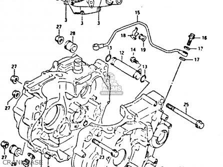 Suzuki Dr350 1991 M Parts Lists And Schematics