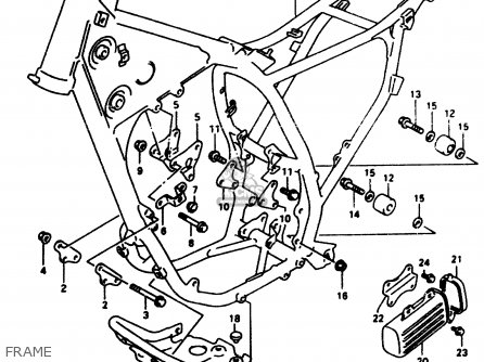 Wiring Harness Suzuki Sp370 furthermore Partslist also Suzuki Gs850 Engine also Suzuki Gn400 Wiring Diagrams Car Pictures as well Wiring Harness For Suzuki Dr650. on dr350 wiring diagram