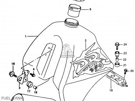 Suzuki Dr350 1997 V Parts Lists And Schematics