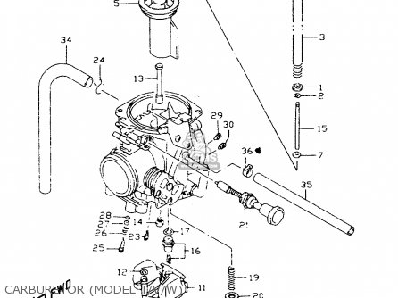 Suzuki Dr350 1998 sex Carburetor model T v w