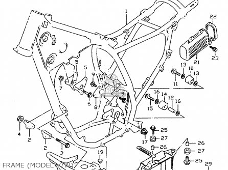 Suzuki Dr350 1998 sex Frame model V w