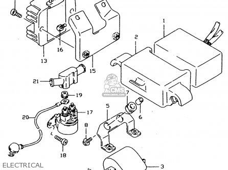 Suzuki Dr350se 1995 S Parts Lists And Schematics
